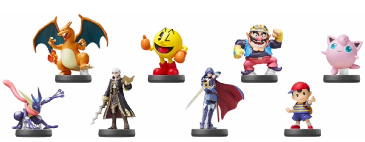 amiibo Super Smash Bros Series Wave 4