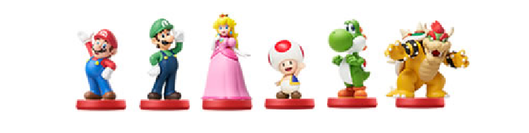 amiibo Super Mario Series Wave 1
