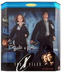 CA Barbie The X-Files Agent Doll Tracker