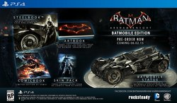 Batman Arkham Knight Limited Edition Tracker
