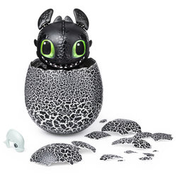Hatching Toothless Dragons