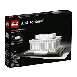 LEGO Architecture Lincoln Memorial 21022 Tracker