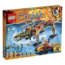 LEGO Chima King Crominus Rescue 70227 Tracker