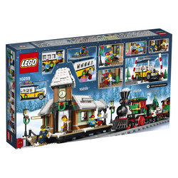 LEGO Creator Winter Village Station 10259 Tracker