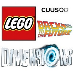LEGO Dimensions Back to the Future Tracker