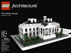 LEGO Architecture White House 2011 Tracker