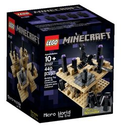LEGO Minecraft Micro World The End Tracker
