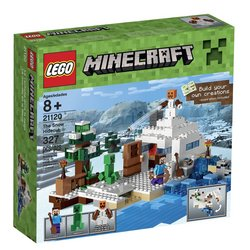 LEGO Minecraft The Snow Hideout 21120 Tracker