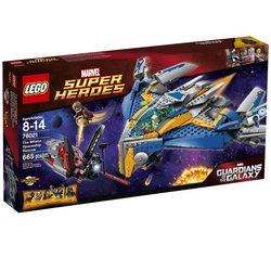 LEGO Super Heroes The Milano Spaceship Rescue 76021 Tracker