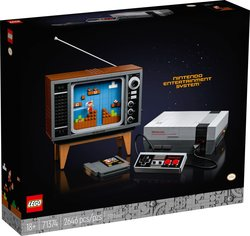 LEGO Super Mario Nintendo Entertainment System 71374 Tracker