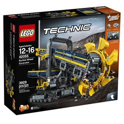 LEGO Technic Bucket Wheel Excavator 42055 Tracker