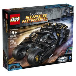 LEGO The Tumbler Tracker
