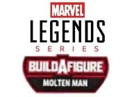 Marvel Legends Series Molten Man