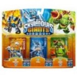 UK Skylanders Giants Triple Pack Tracker