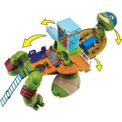Teenage Mutant Ninja Turtles 24-Inch Turtle Mutation Leonardo Playset Tracker